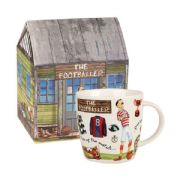 Churchill At Your Leisure The Footballer Mug in Hatbox